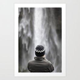 Seljalandsfoss Waterfall Iceland Art Print
