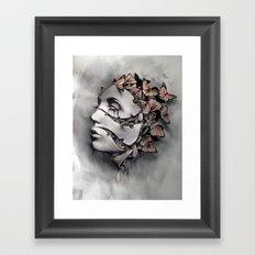 metamorfosis  Framed Art Print