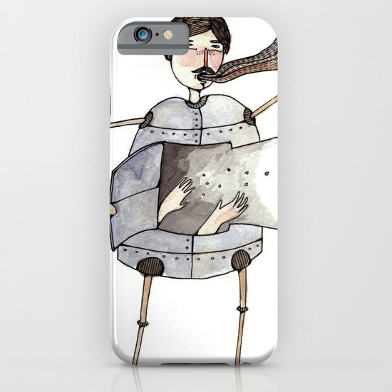 Robot Magic iPhone & iPod Case