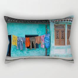 Out to dry in rural Bahia Rectangular Pillow