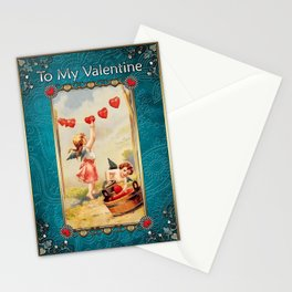 Valentine's Day Vintage Card 050 Stationery Cards