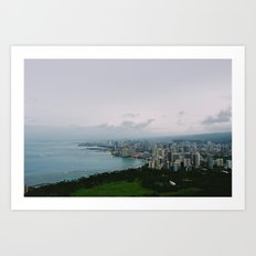 From Diamond Head Art Print