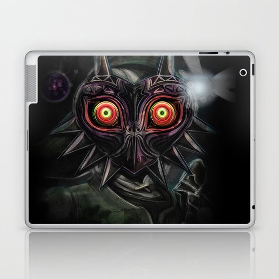 Legend of Zelda Majora's Mask Link Laptop & iPad Skin