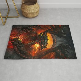 Hell Dragon Rug