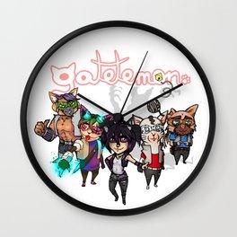 Gatetemon Band Wall Clock