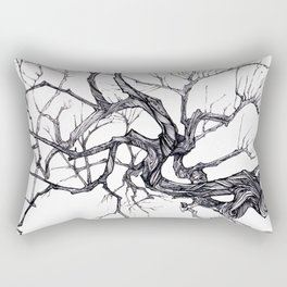 Gnarled Tree Rectangular Pillow