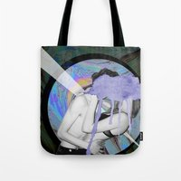 lovers Tote Bags featuring Lovers by G-Fab