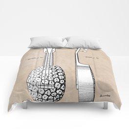 patent art Kamaka Ukulele 1927 Comforters