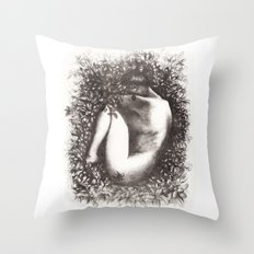 Mother Nature's womb Throw Pillow