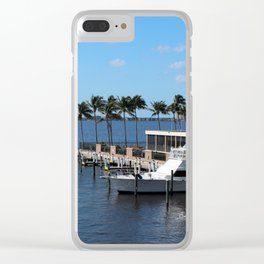 Under the Florida Sun Clear iPhone Case