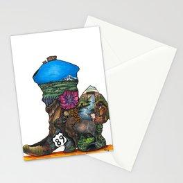 Montana Montage Stationery Cards