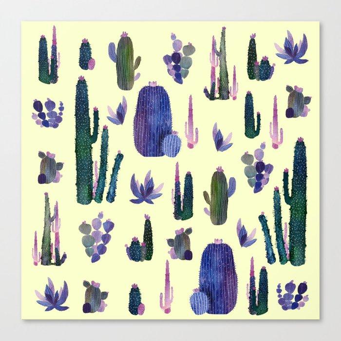 My best cactus New version!! Canvas Print