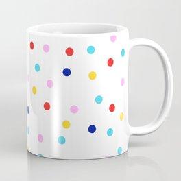 Colorful Dots Modern Coffee Mug