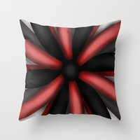 passion Throw Pillows featuring Passion by ShaylahLeigh