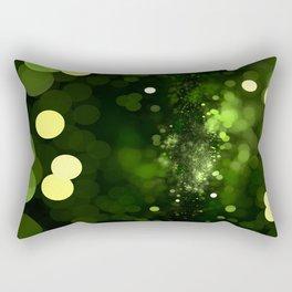 Sky Full of Diamonds (lemon & lime) Rectangular Pillow