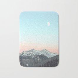 Mountains Landscape Bath Mat