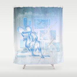 Eispaar Shower Curtain