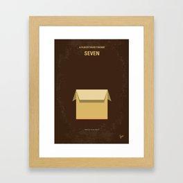 No233 My Seven mmp Framed Art Print