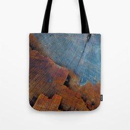 Colored Wood Tote Bag