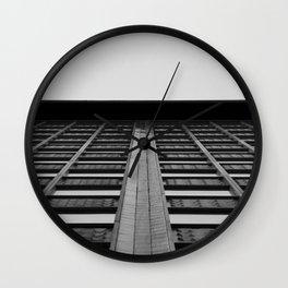 Pools of Glass  Wall Clock