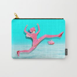 Pink Catwoman Carry-All Pouch