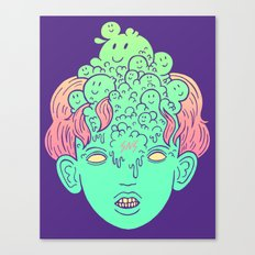 brain parasites Canvas Print