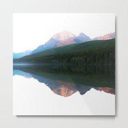 White mountain Metal Print