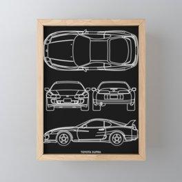 Supra Mk 4 Framed Mini Art Print