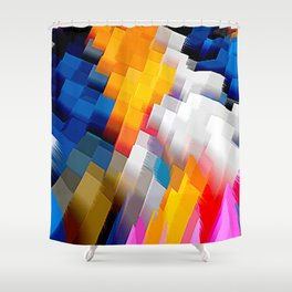 Extrusion II Shower Curtain