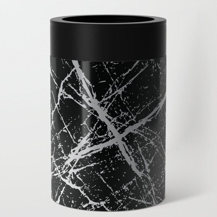 Silver Splatter 090 Can Cooler