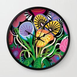 Dripping Gardens Wall Clock