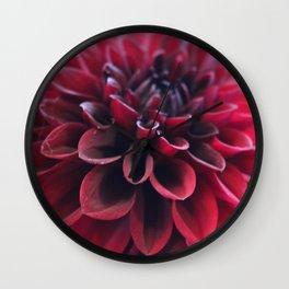 Hannah's Flower #2 Wall Clock
