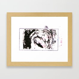 Rain of Poems #1 Framed Art Print