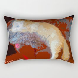 Just Chilling... Rectangular Pillow