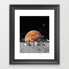 Venus Beach Framed Art Print