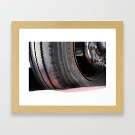Deflate Framed Art Print