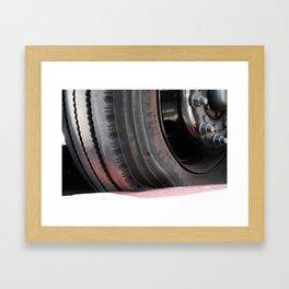 Deflate Framed Art Print
