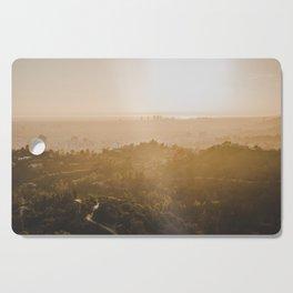 Golden Hour - Los Angeles, California Cutting Board