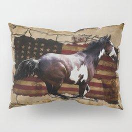 The Pony Express Pillow Sham
