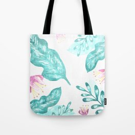 Nature Turquoise Tote Bag