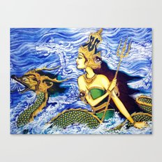 SEA QUEEN Canvas Print