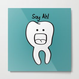 Say Ah! Metal Print