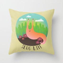 Slug Life #1 Throw Pillow