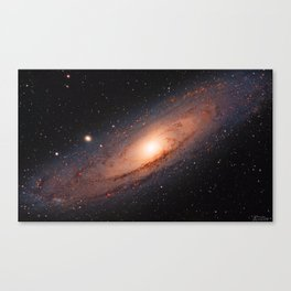 Updated - The Andromeda Galaxy Canvas Print