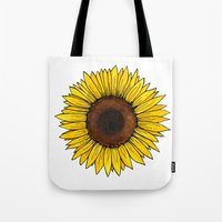 friday Tote Bags featuring Friday by SkinnyGinny