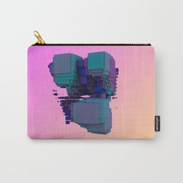Sci-fi Cubes Carry-All Pouch
