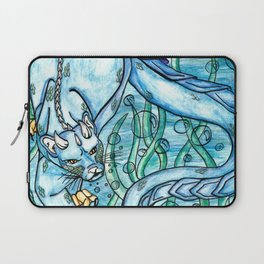 Underwater Panther Laptop Sleeve