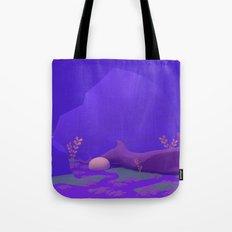 Amethyst Marsh Tote Bag