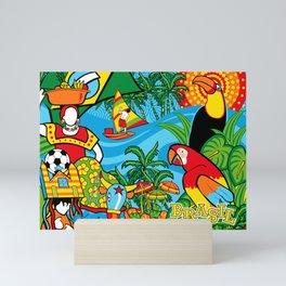 Brazilian Fauna Mini Art Print