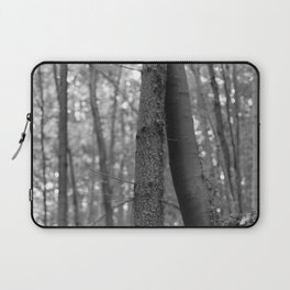 Old love, black and white photography trees Laptop Sleeve